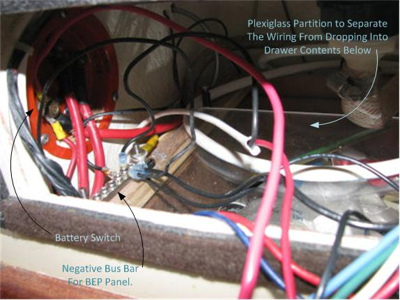 association forum next major project rewiring the entire boat panel the positive leads from each load is directly connected to each switch in each panel the hot side of each switch has a common positive